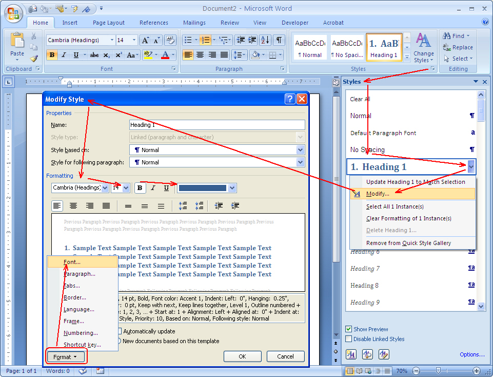 How To Create Multilevel Lists In Word Ms Word Know How