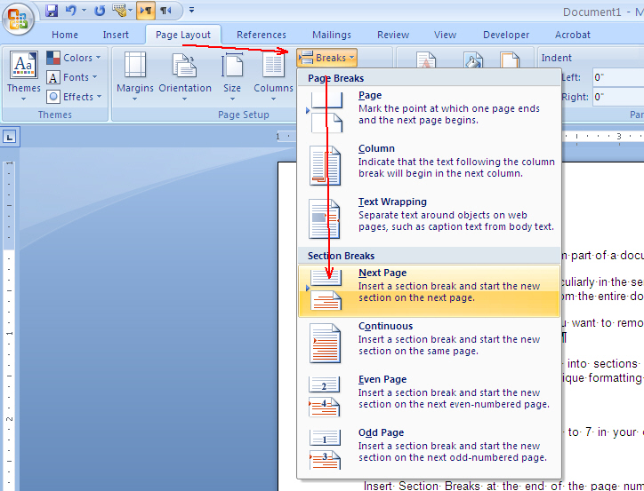 How to remove Header and Footer from part of a document ...