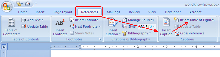 How To Add Caption In Word 6
